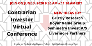 Contrarian Investor Virtual Conference No. 2